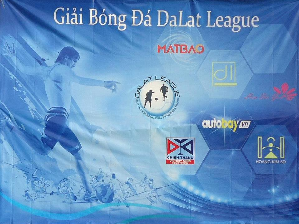 Mắt Bão là Nhà tài trợ chính cho Giải Bóng Đá Mini Dalat League