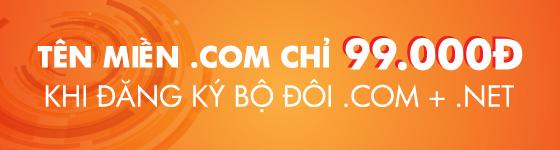 đăng ký bộ đôi .vn, .com.vn   hosting/ email. giảm ngay 50%25 hosting/ email