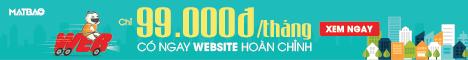 Website Hoàn Chỉnh Chỉ 99,000đ/tháng