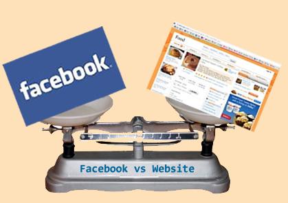Kinh doanh online – Chọn Website hay Facebook?
