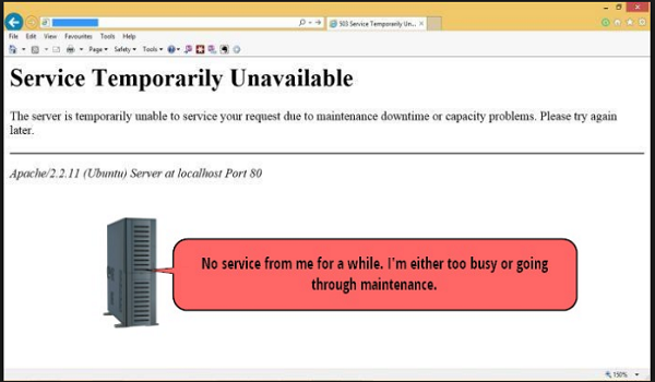 502 Service Temporarily Overloaded