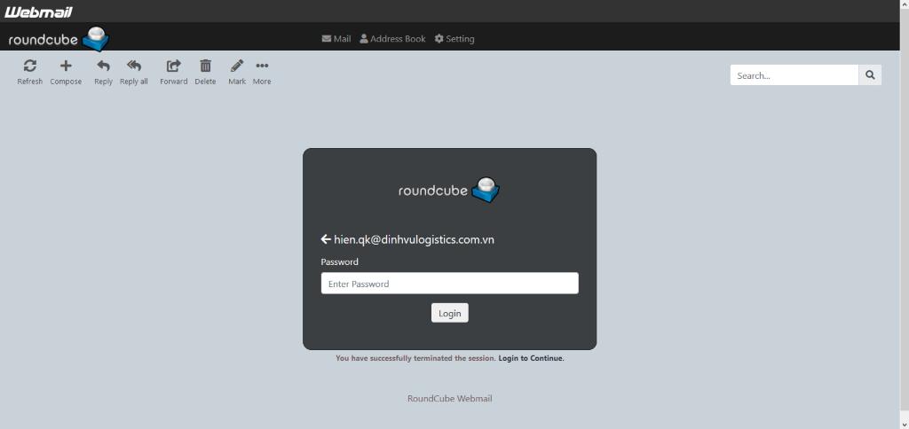 User Email được điền sẵn để tăng độ tin cậy